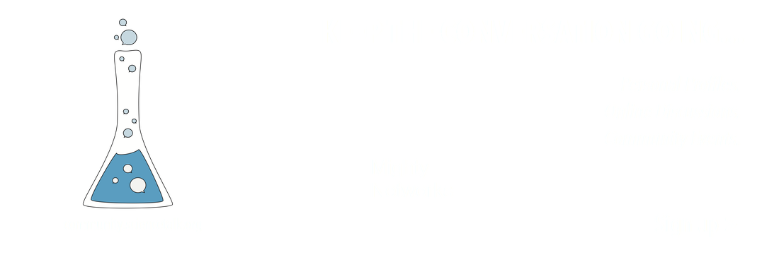 keep the conversation going. personal profiles. online discussions. community events. mighty networks. community dot science talk dot org.